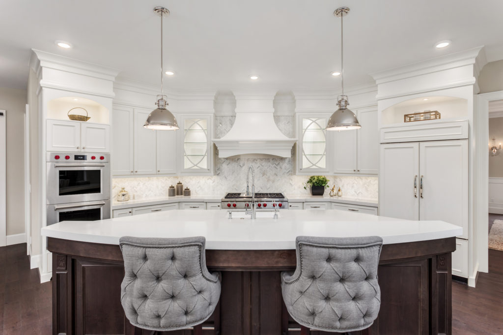 luxury home features - a beautiful kitchen