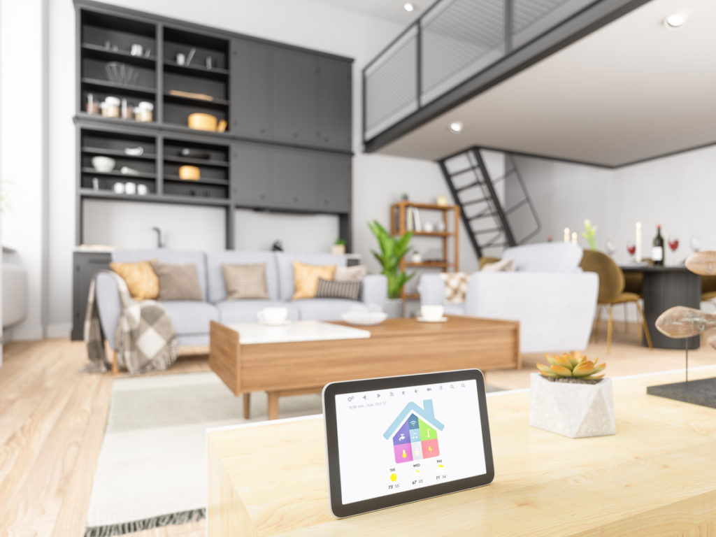 Home automation with Tablet - smart home